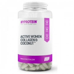 MyProtein Active Women Collagen & Coconut - 60 kapslí