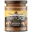 Organic crunchy peanut butter Meridian