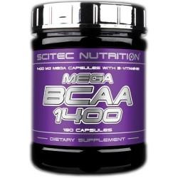 Scitec Nutrition Mega Bcaa 1400 180 kapslí