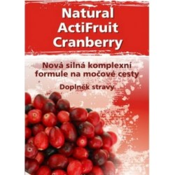Brusinky - Natural ActiFruit Cranberry 120 kapsli vegan