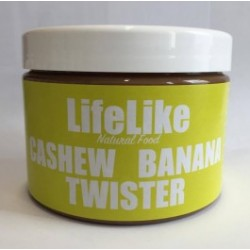 LifeLike Cashew Banana Twister 450g