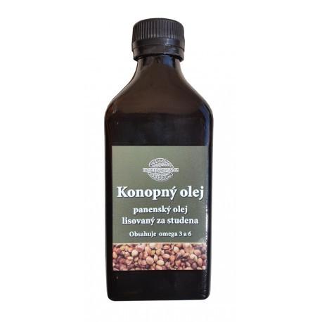 Konopný olej lisovaný za studena 500 ml