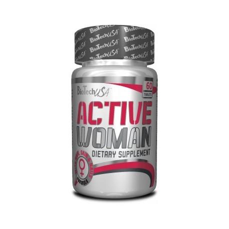 BIOTECH ACTIVE WOMAN 60 TABLET NOVINKA
