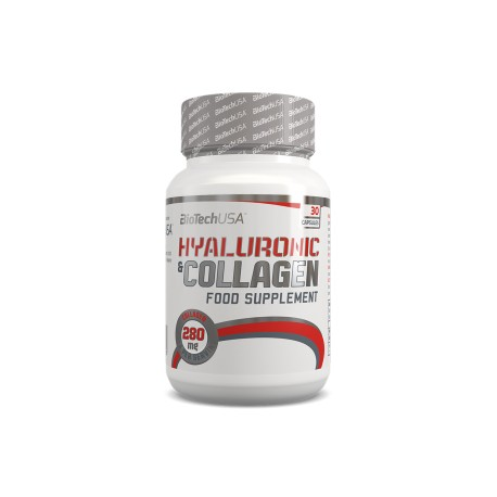 BIOTECH HYALURONIC & COLLAGEN 30CAPS.