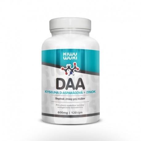 DAA - kyselina D-asparagová + Zinek | 600 mg | 120 cps Doplněk stravy pro muže