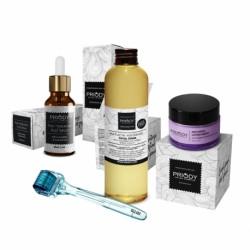 PRIODY - balíček pro komplexní regeneraci a lifting - Sérum + Krém + Micelární voda + Derma váleček