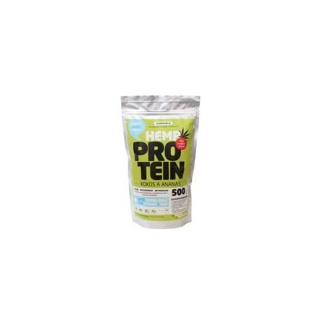 Konopný protein 500g - kokos s ananasem