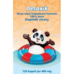Naturgreen Detoxík 120 kapslí