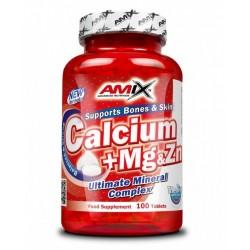 Amix Calcium + Magnesium + Zinek 100 tablet