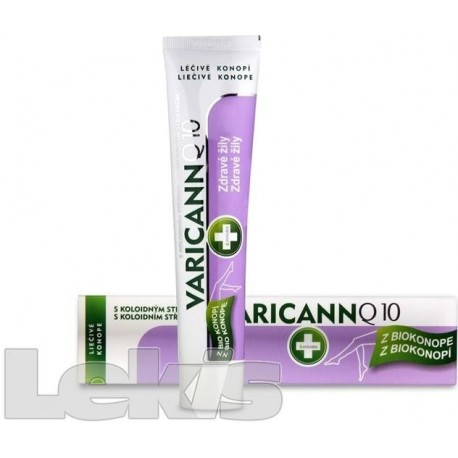 Varicann Q10 konopný gel 75ml