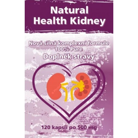 Natural Healthy Kidney - zdravé ledviny,120 kapslí