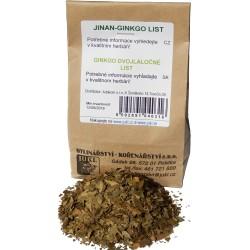 Jinan ginkgo list sypaná bylina 50 g