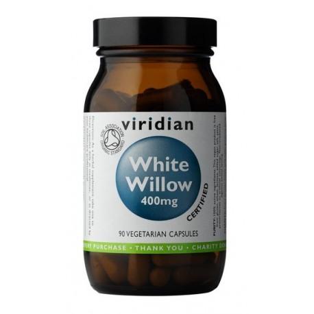 Organic White Willow Bark 400mg 90 kapslí
