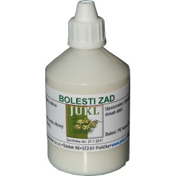 JUKL - mast BOLESTI ZAD - 50 ml