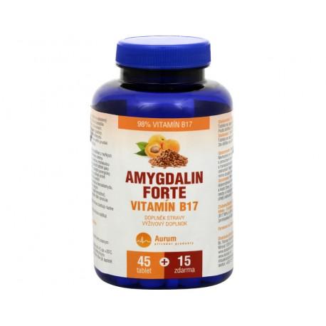 AMYGDALIN FORTE VITAMÍN B17 45+15 TBL. ZDARMA
