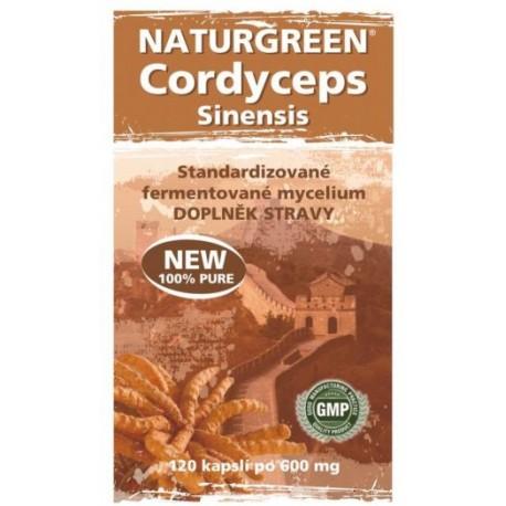 Naturgreen Cordyceps 120 tbl.