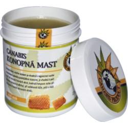 Konopná mast s včelím voskem 25ml,60 ml