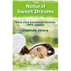 Natural Sweet Dreams - 120 kapslí