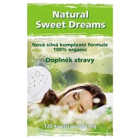 Natural Sweet Dreams - 120 kapslí