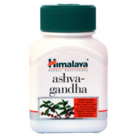 Himalaya Herbals Ashvagandha 60 tablet - proti stresu, ovlivňuje spánek, dává energii