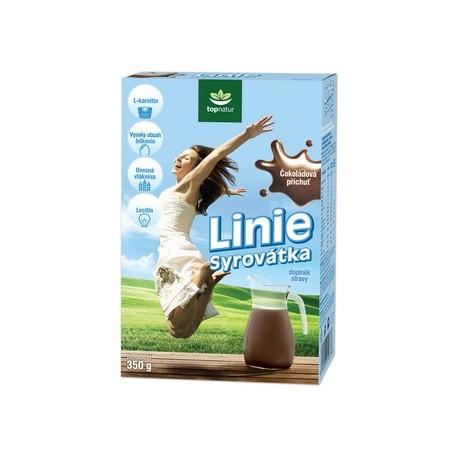 Sušená syrovátka LINIE čokoláda 350g