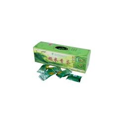 Čínský zelený čaj Yunnan s rýžovými květy 40 kostek
