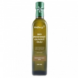 Wolfberry Olivový panenský olej Bio Raw 500 ml