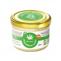 CBD Konopné máslo BIO přepuštěné 220 ml Zelená Země