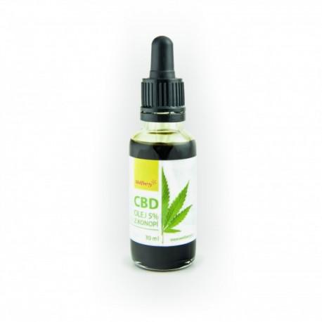 Zobrazit větší CBD Konopný olej Wolfberry 30 ml