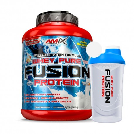 AMIX Whey Pure Fusion Protein 2300g + Shaker ZDARMA