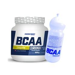 EnergyBody BCAA Drink 500g + sportovní lahev ZDARMA Příchuť: Citrón
