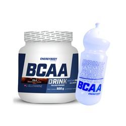 EnergyBody BCAA Drink 500g Příchuť: cola + sportovní láhev ZDARMA!