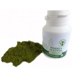 Moringa Oleifera prášek 100g Zelené Drahokamy