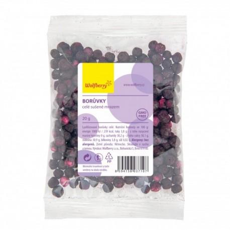Wolfberry Borůvky celé sušené mrazem 20 g