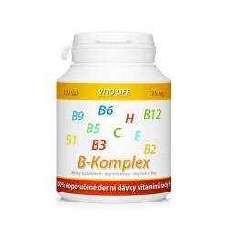VITO LIFE - B-Komplex + vitamín C a E 100 tobolek