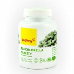 Chlorella Wolfberry BIO 500 tablet - doplněk stravy