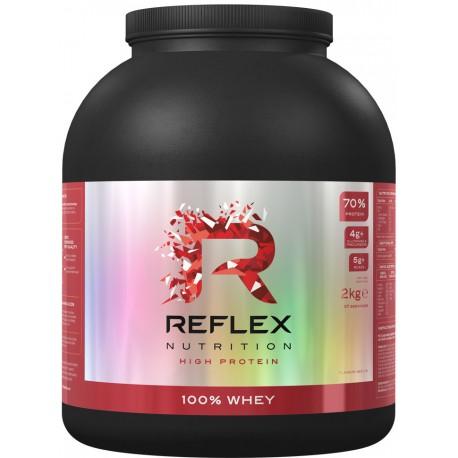 Reflex 100% Whey Protein 2kg jahoda
