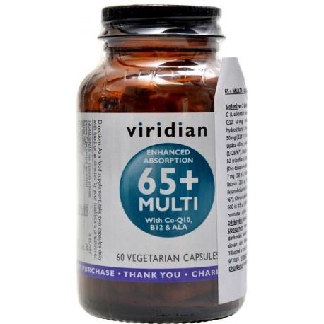 Viridian 65+ Multi 60 kapslí