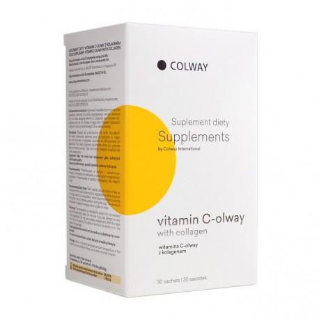 Colway VITAMIN C-OLWAY S KOLAGENEM 30 ks
