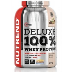 Nutrend Deluxe 100% Whey Protein 2250 g - jahodový cheesecake