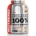 Nutrend Deluxe 100% Whey Protein 2250 g - jahodový cheesecake Nutrend
