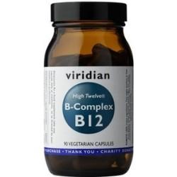 Viridian B-Complex B12 High Twelwe - 90 kapslí