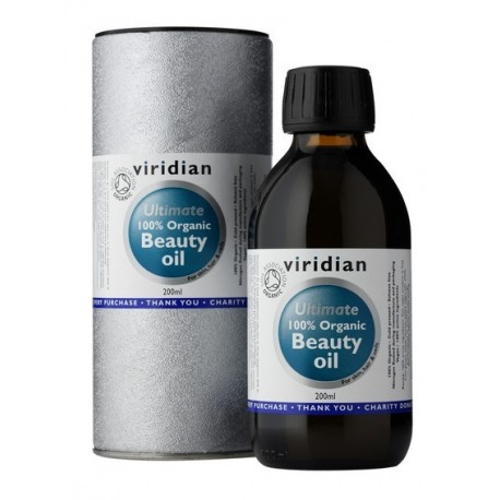 Viridian Beauty Oil 200ml Organic