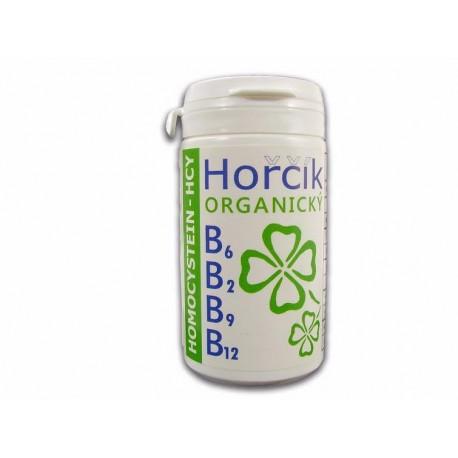 Organický hořčík s vit.skupiny B - HCY želatinové kapsle 60 ks