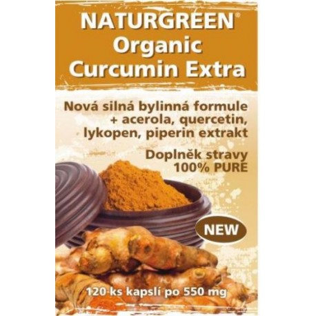 Naturegreen New Curcumin Extra 2016