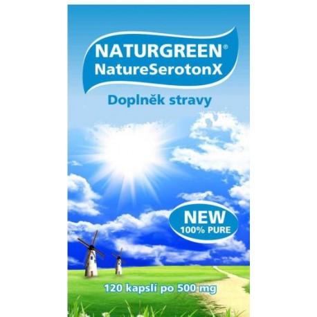Naturgreen® NatureSerotonX - 120 kapslí