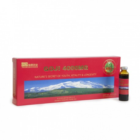 Goji (Kustovnice čínská) 4000 mg v ampulích 10x10 ml (Lycium Chinense )