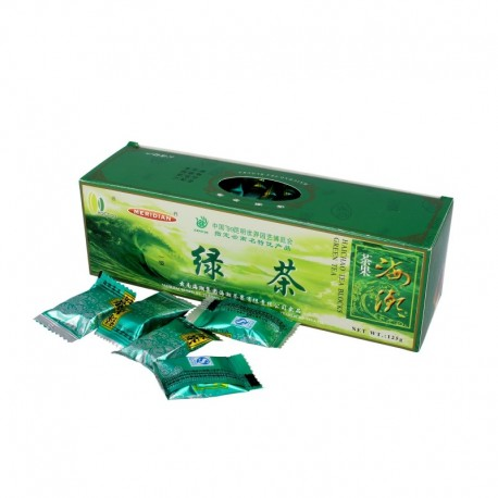 Čínský zelený čaj Yunnan - 40 kostek