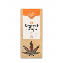 Zelená Země Konopný čaj s goji 50 g