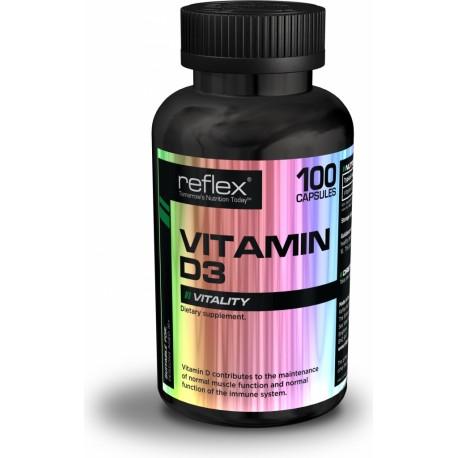 Reflex Nutrition Vitamin D3 - 100 kapslí